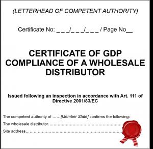 EU GDP-Zertifikat