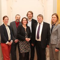 gmPlan Team v.l.n.r. Carolina Schulte, Hans Metzger, Judith Hein, Manuel Sprenger, Dr. Maina Wehner