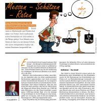 Aus dem Leben eines GMP-Auditors: Messen-Schätzen-Raten von Karl Metzger
