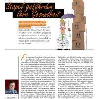 Aus dem Leben eines GMP-Auditors: Stapel gefährden Ihre Gesundheit von Karl Metzger