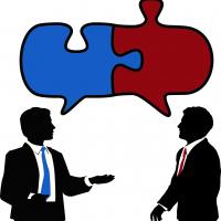 Sprache entwickelt Klarheit gmPlan Hellblau